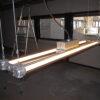 industriële lamp, bunkerlamp, fabriekslamp, vintage, led lamp