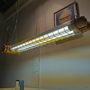 industriële bunkerlamp, kooilamp, vintage, Bauhaus, led lampen, fabriekslamp
