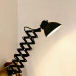 Industriële schaarlampen