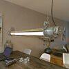 bunkerlamp, industriële lamp. Wij restaureren onze industriële lampen vakkundig en ze worden voorzien met duurzame en zuinige LED lampen met 5 jaar garantie